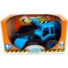 Műanyag traktor tolólapáttal - 45 cm