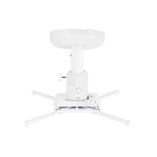 Multibrackets Projektor mennyezeti konzol Finetune, dönthető, forgatható, 200 mm, fehér világítás