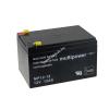 Multipower Ólom akku (Multipower) típus MP12-12 - VDS-minősítéssel (csatlakozó: F1)