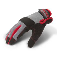 Munkavédelmi kesztyű tépőzárral kapacitív ujjheggyel L-es méret