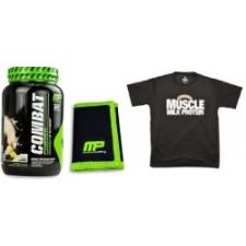MusclePharm COMBAT 908g + MusclePharm pénztárca + MUSCLE MILK póló táplálékkiegészítő