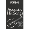 Music Sales The Little Black Songbook: Acoustic Hits