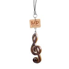 Musician Designer MDST0001 Music Wooden Straps Treble Clef hangszer kellék