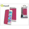 Muvit Apple iPhone 6/6S flipes tok - Muvit Crystal Folio - pink