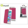 Muvit Apple iPhone 6/6S flipes tok - Muvit Crystal Folio - pink