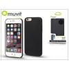 Muvit Apple iPhone 6/6S hátlap - Muvit Back Thin Case - black