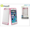 Muvit Apple iPhone 6/6S hátlap - Muvit Bimat - clear/pink