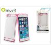 Muvit Apple iPhone 6/6S hátlap - Muvit Bimat - clear/pink