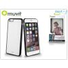 Muvit Apple iPhone 6 Plus/6S Plus hátlap - Muvit Bimat - black/transparent