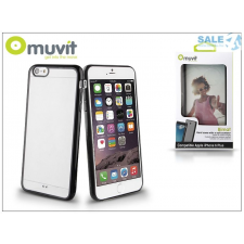 Muvit Apple iPhone 6 Plus/6S Plus hátlap - Muvit Bimat - black/transparent tok és táska