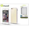 Muvit Apple iPhone 6 Plus/6S Plus hátlap - Muvit Frame TPU - clear/silver
