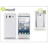 Muvit Huawei Ascend G510 hátlap - Muvit miniGel - white