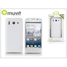 Muvit Huawei Ascend G510 hátlap - Muvit miniGel - white tok és táska