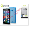 Muvit Nokia Lumia 535 hátlap - Muvit miniGel - transparent