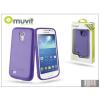 Muvit Samsung i9190 Galaxy S4 Mini hátlap - Muvit miniGel - lila