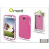 Muvit Samsung i9500 Galaxy S4 hátlap - Muvit miniGel - pink