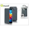 Muvit Samsung SM-G900 Galaxy S5 flipes tok - Muvit Crystal Folio - blue