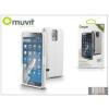 Muvit Samsung SM-G900 Galaxy S5 flipes tok - Muvit Window Folio - white