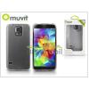 Muvit Samsung SM-G900 Galaxy S5 hátlap - Muvit miniGel - clear