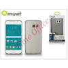 Muvit Samsung SM-G920 Galaxy S6 hátlap - Muvit ThinGel - smoke black