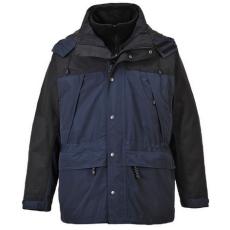 MV kék/fekete Portwest 3/1 ORKNEY kabát S532 S-4XL méretek