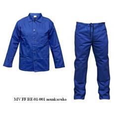 MV kék FF BE-01-001 munkaruha derekas öltöny 46-64