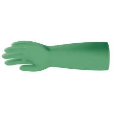 MV vegyszerálló kesztyű zöld 45cm, 5538, 5539, 5540, 5541/ 8-11 méretek