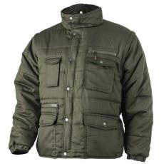 MV zöld POLENA SLEEVE kabát/mellény (MÉRETEK:XS-XXXL)