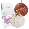 MyBBPrint karácsonyfadísz készítő készlet - baba, gyermek, lábszobor, kézszobor, lenyomat