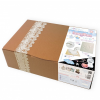 MyBBPrint Lacy Box - hatalmas baba mama ajándék - lenyomat készítők és ajándékok - kézszobor, lábszobor