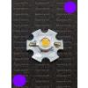 N/A 3W Power LED sötét lila 50 Lumen 2100-2200K