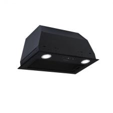 Na Paolo, páraelszívó, beépített, 52,5 cm, levegőelszívás 600 m³/ó, LED, fekete páraelszívó