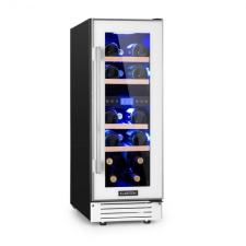 Na Vinovilla 17, kétzónás borhűtő, 53 l, 17 palack, fehér borhűtőgép