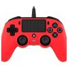Nacon vezetékes PS4 kontroller (piros)