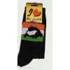 Nagy-Magyarországos fekete zokni 36-40
