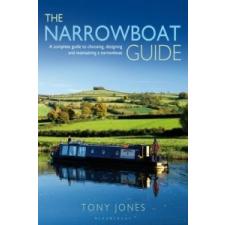 Narrowboat Guide – Tony Jones idegen nyelvű könyv