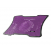 Natec laptop cooling pad MACAW Purple (12;1''-15;6'') silent fan with LED backli