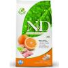 Natural & Delicious; Farmina N&D Grain Free Hal+Narancs 2,5kg