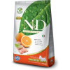Natural & Delicious; Farmina N&D Grain Free Hal&Narancs Kistestű Kutya 7kg