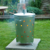NATURE 46x72 cm galvanizált acél kerti hulladékégető