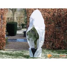 NATURE fehér téli cipzáras gyapjútakaró 70 g/m2 1,5 x 1,5 x 2 m barkácsgép tartozék