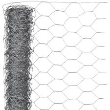 NATURE hatszögletű horganyzott acél drótháló 0,5 x 10 m 40 mm kerti dekoráció