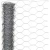 NATURE hatszögletű horganyzott acél drótháló 0,5 x 2,5 m 25 mm