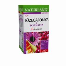 Naturland Gyömölcstea tőzegáfonyával és echináciával  20 x 2g tea