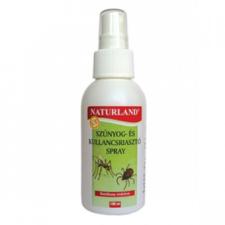 Naturland szúnyog- és kullancsriasztó spray egészség termék