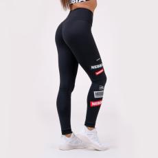 NEBBIA High waist NEBBIA Labels Leggings 504 čierne L
