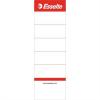 Nebuló Cserecímke, iratrendezőhöz, kétoldalas, 50x158 mm, ESSELTE, fehér