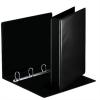 Nebuló Gyűrűs könyv, panorámás, 4 gyűrű, D alakú, 50 mm, A4, PP, ESSELTE, fekete