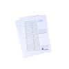 Nebuló Pólyás dosszié, karton, A4, VICTORIA, fehér - 25db/csomag