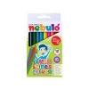 Nebulo Színes ceruza készlet, háromszögletû, jumbo, NEBULÓ, 12 különbözõ szín